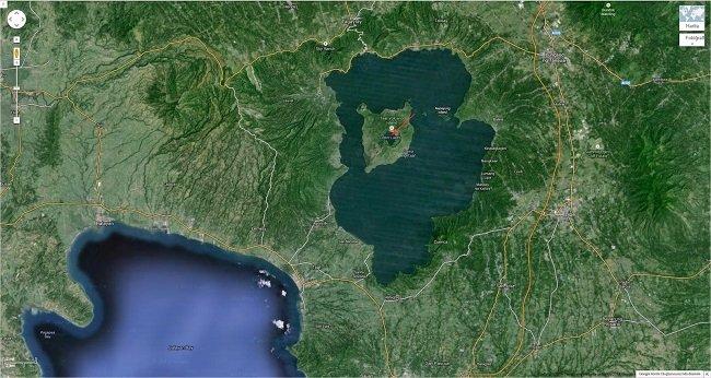 Top-10: Cele mai neobișnuite și înfiorătoare fotografii făcute în Google Earth