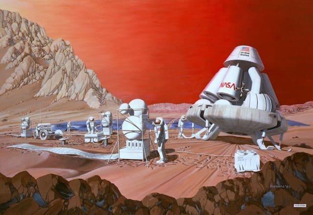TOP-10: Curiozități despre călătoriile pe planeta Marte